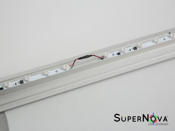 SuperNova Lightbox Extrusion and LED Lights