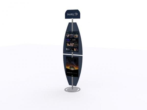 MOD-1282 Portable Hybrid Trade Show Banner Stand