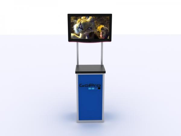 MOD-1534 Trade Show Monitor Stand -- Image 2