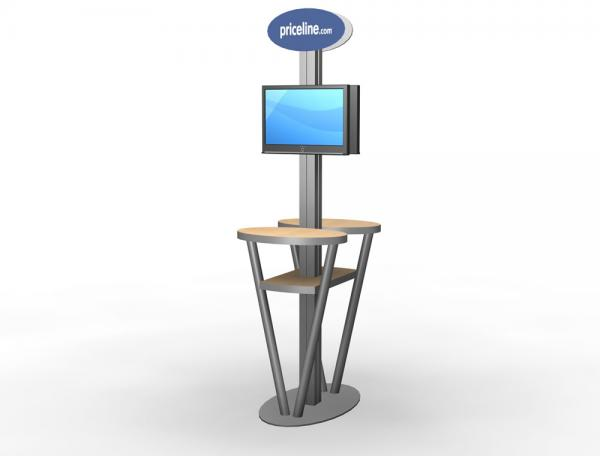 MOD-1182 Trade Show Workstation or Kiosk