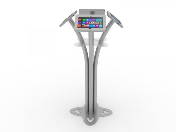 MOD-1338M Portable Surface 2 Kiosk -- Silver