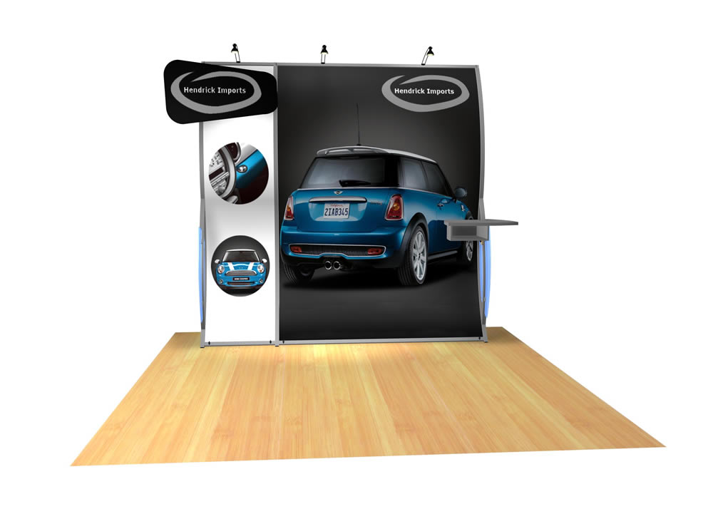 Perfect 10 VK-1503 Portable Hybrid Trade Show Display -- Image 5