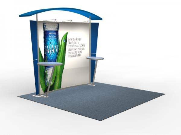 VK-1301 Trade Show Exhibit with Silicone Edge Graphics (SEG) -- Image 2