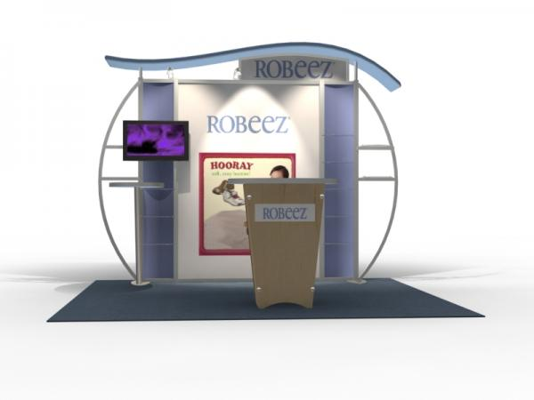VK-1314 Trade Show Exhibit with Silicone Edge Graphics (SEG) -- Image 3