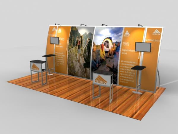 VK-2094 Portable Trade Show Exhibit
