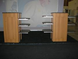 ECO-21C and ECO-22C Podiums with Locking Storage and Adjustable Shelves -- Image 2