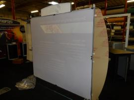 VK-1207 Sacagawea Portable Hybrid Display with Large Format Fabric Graphics -- Image 2