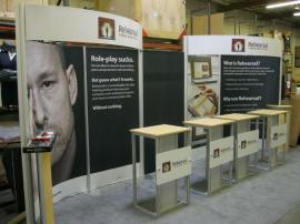eSmart ECO-2029 with Fabric Graphics, Large DTS Headers, and ECO-26C Pedestals -- Image 2