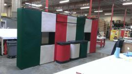 Quadro S Pop Up with Shadowboxes, Fabric Panels, and Case-to-Counter Conversions -- Image 1
