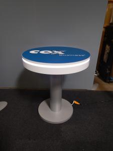 RENTAL: RE-704 Charging Station @ 42� High with Adhesive Graphic -- Image 2
