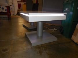 MOD-1434 Charging Station Coffee Table with LED Perimeter Lights -- Image 2