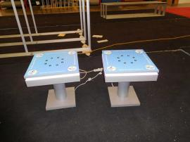 (2) MOD-1433 End Table Charging Stations with Graphics