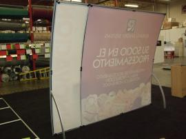 VK-1065 Magellan Miracle Portable Hybrid Display with Tension Fabric Graphics -- Image 2