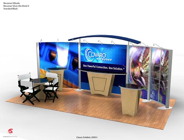 Exhibit Design Search VK 2032 Hybrid Booth Modern
