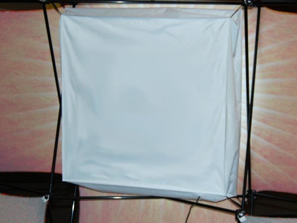 LED LightBox shown here behind the Plus Graphic Skin on the Express E kit