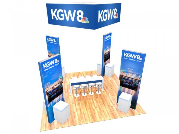 RE-9129 Island Rental Trade Show Exhibit -- Image 3