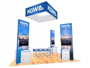 RE-9129 Island Rental Trade Show Exhibit -- Image 1