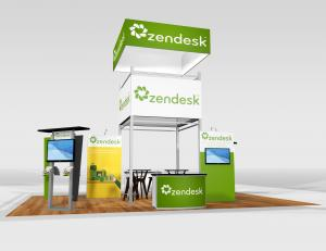 RE-9078 Trade Show Rental Exhibit -- Image 1