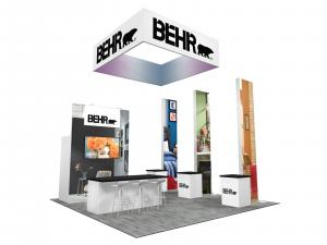 RE-9084 BEHR Trade Show Rental Exhibit -- Image 1