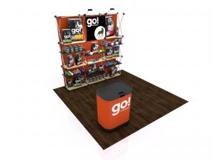 FG-115 Trade Show Pop Up Display -- Version 2a