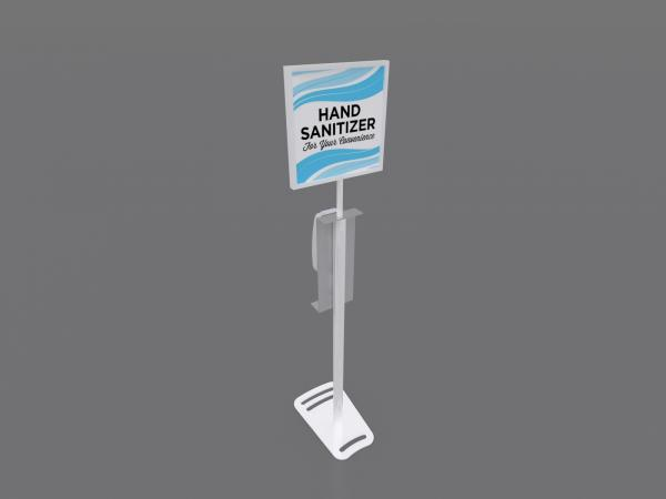 MOD-9002 Hand Sanitizer Stand with Graphic Option -- Image 4