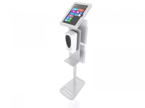 MOD-1377M Hand Sanitizer / iPad Stand -- View 3