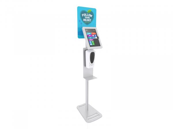 MOD-1379M Hand Sanitizer / iPad Stand -- View 1