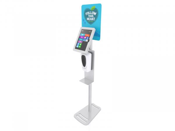 MOD-1379M Hand Sanitizer / iPad Stand -- View 3