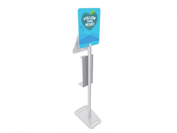MOD-1379M Hand Sanitizer / iPad Stand -- View 4