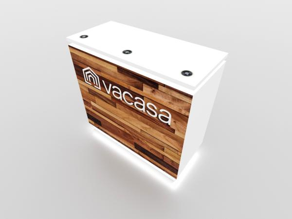 MOD-1579 Custom Trade Show Display Counter -- Image 2