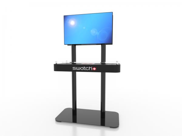 MOD-1477 Trade Show Monitor Stand Charging Station -- Image 1