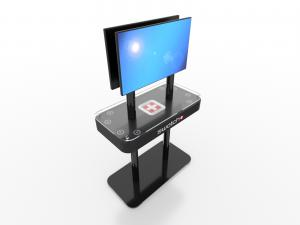 MOD-1477 Trade Show Monitor Stand Charging Station -- Image 2