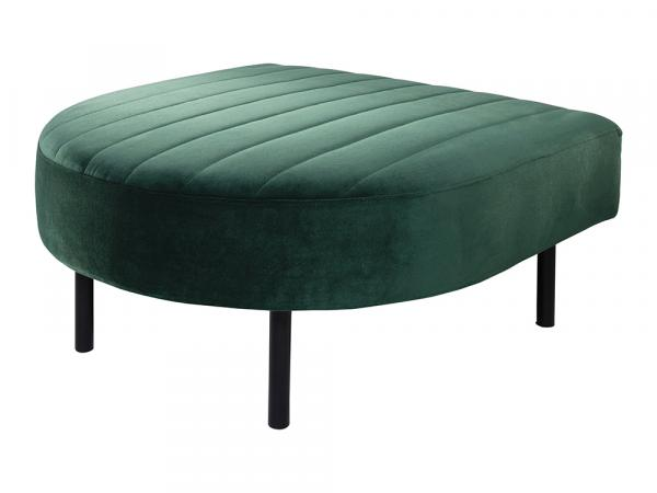 Endless Half-Round Low Back Ottoman -- Trade Show Furniture Rental
