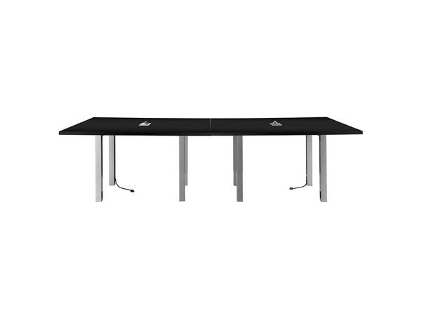 10 ft. Table Conference Table (powered) -- Trade Show Rental Furniture