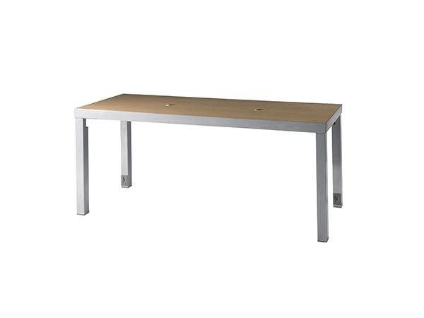 CECT-038 | Ventura Communal Bar Table (Maple) -- Trade Show Rental Furniture