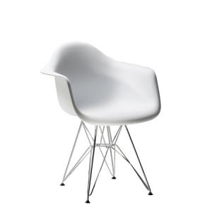 CEGS-027 | Pasadena Chair White -- Trade Show Furniture Rental