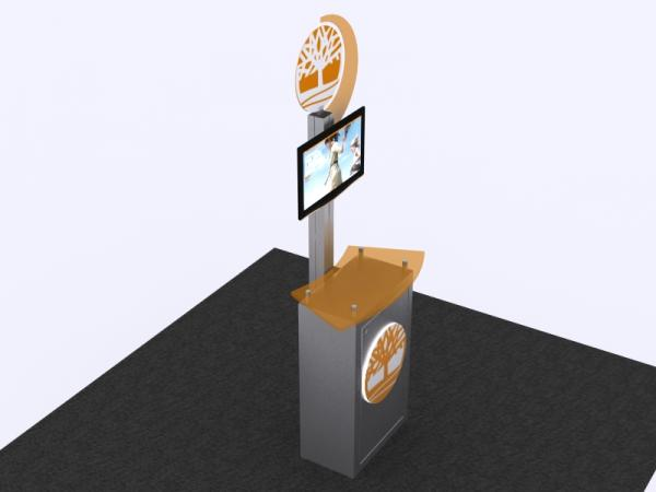 MOD-1330 Trade Show Workstation/Kiosk -- Image 2