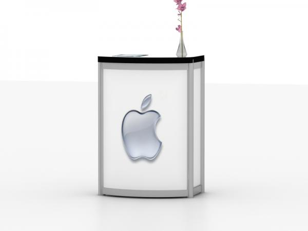 MOD-1288 Modular Pedestal with iPad Tabelt Insert -- Image 2