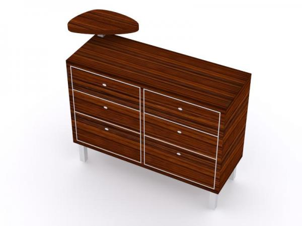 MOD-1508 Custom Counter with Drawers -- Image 2