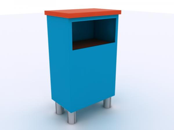 MOD-1513 Custom Counter with Storage -- Image 3