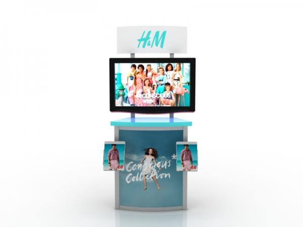 MOD-1249 Workstation/Kiosk for Trade Shows and Events -- Image 2