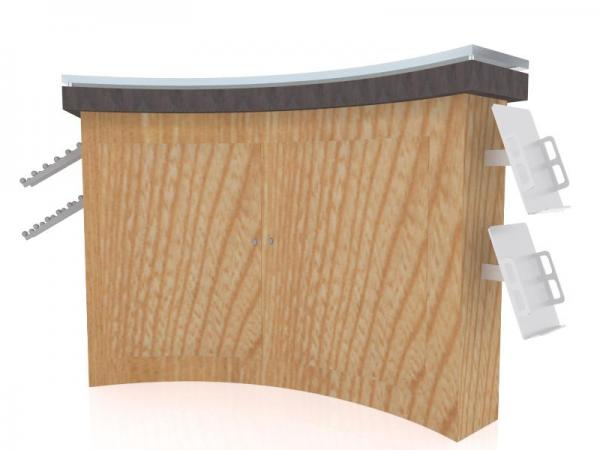 MOD-1520 Custom Counter with Storage -- Image 2
