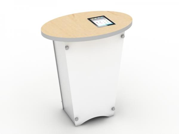 LTE-1001 Trade Show Pedestal with MOD-211 iPad2 Insert Option