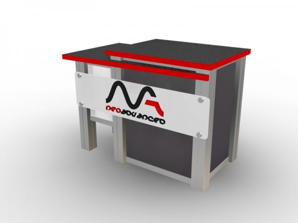 MOD-1260 Trade Show Counter -- Image 2