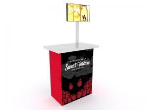MOD-1527 Trade Show Monitor Stand -- Image 1
