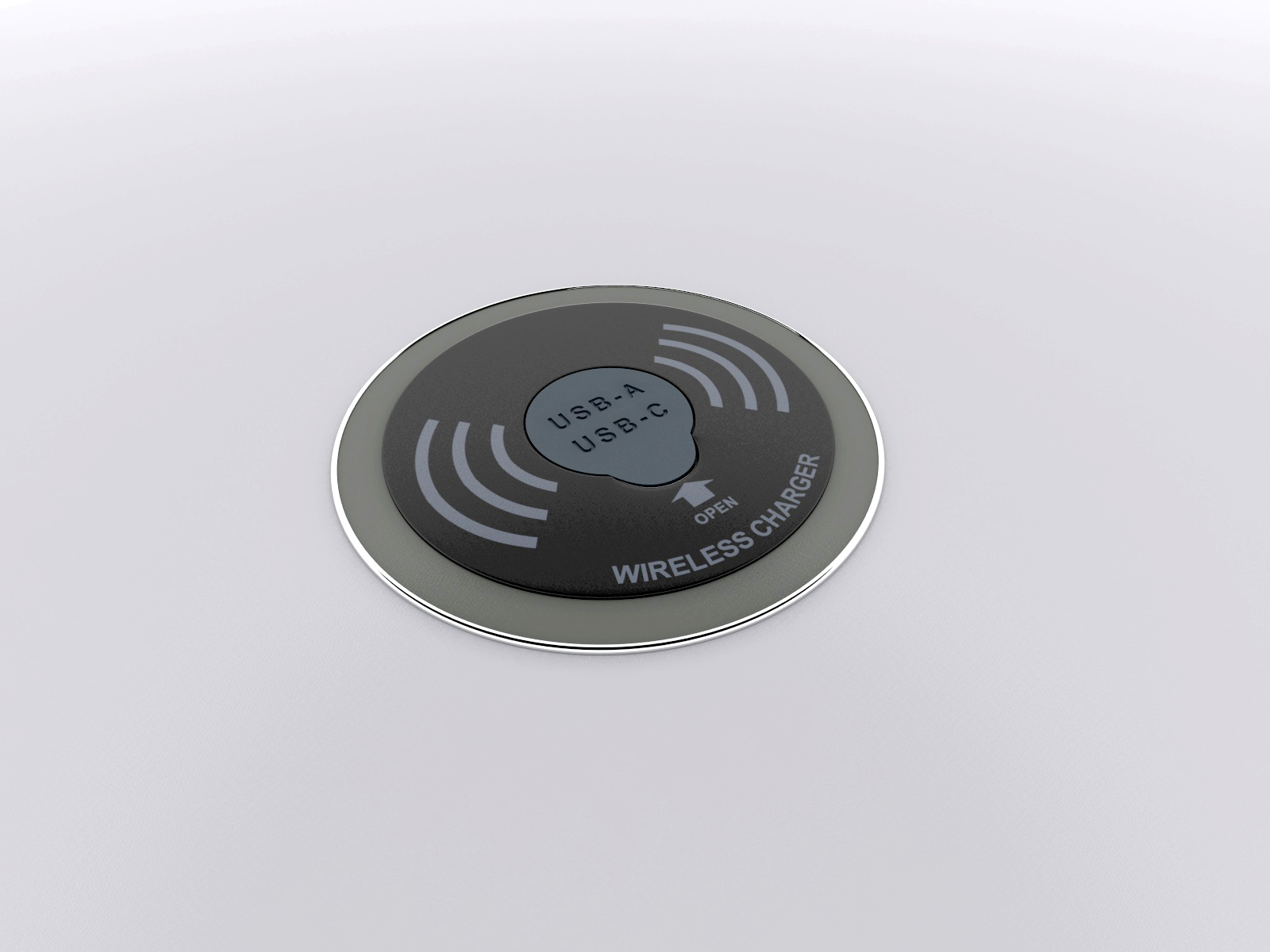 Wireless Charging Pad -- Closed