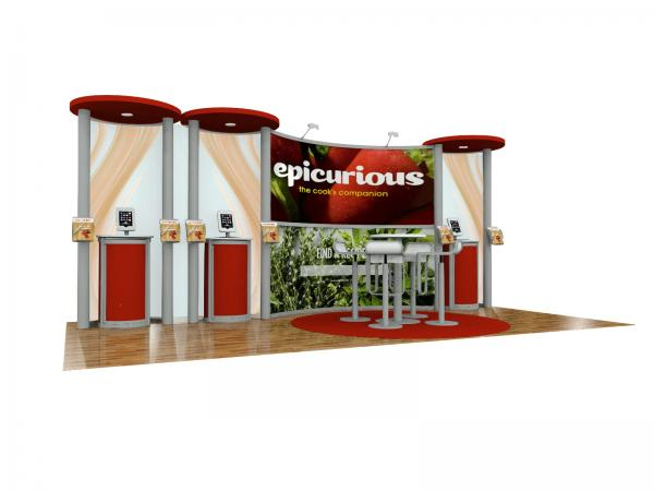 ECO-2111 Sustainable Trade Show Display