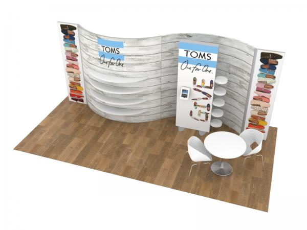 ECO-2118 Sustainable Trade Show Inline Display -- Image 2