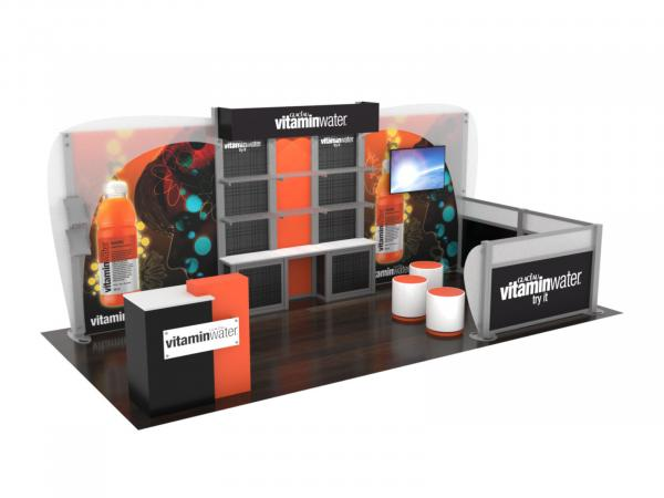 ECO-2064 Sustainable Trade Show Display - Image 1