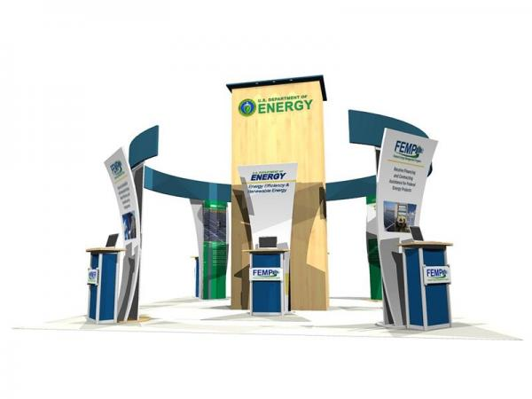 ECO-4002 eSmart Sustainable Island Exhibit -- Image 1